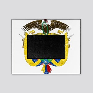 Colombia Coat Of Arms Picture Frame