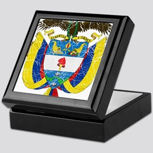 Colombia Coat Of Arms Keepsake Box