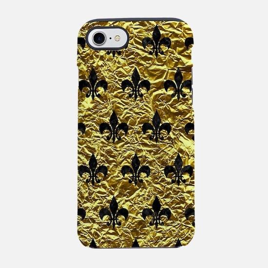 ROYAL1 BLACK MARBLE & GOLD FOI iPhone 7 Tough Case
