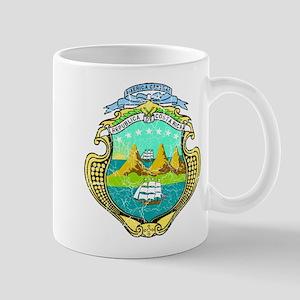 Costa Rica Coat Of Arms Mug