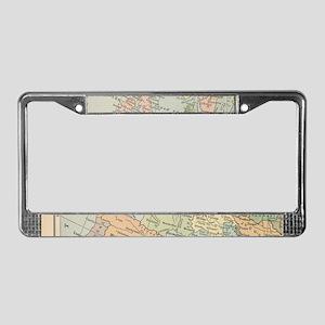 Europe - License Plate Frame