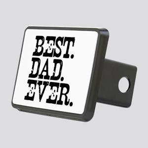Best Dad Ever Rectangular Hitch Cover