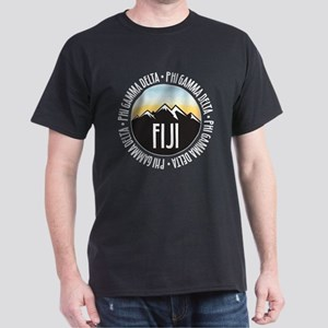 Phi Gamma Delta Mountain Sunset Dark T-Shirt