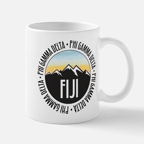 Phi Gamma Delta Mountain Sunset Mug