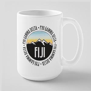 Phi Gamma Delta Mountain 15 oz Ceramic Large Mug