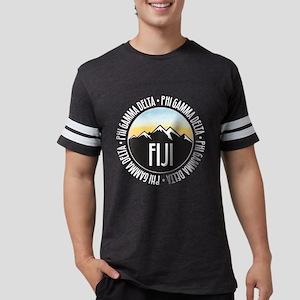 Phi Gamma Delta Mountain Sunse Mens Football Shirt