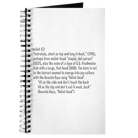 Mullet - Journal