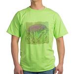 Artichoke Flower Green T-Shirt