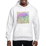 Artichoke Flower Hooded Sweatshirt