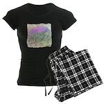 Artichoke Flower Women's Dark Pajamas