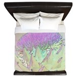 Artichoke Flower King Duvet