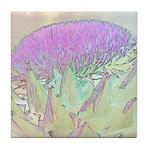 Artichoke Flower Tile Coaster