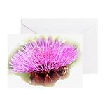 Artichoke Flower Greeting Cards (Pk of 10)