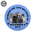 """Change 2012 3.5"""" Button (10 pack)"""