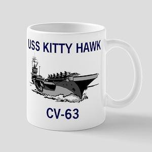 USS KITTY HAWK Mug