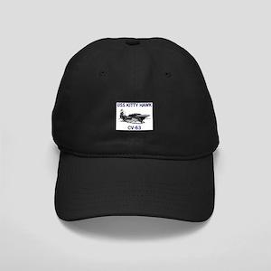 USS KITTY HAWK Black Cap