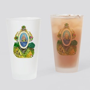 Honduras Coat Of Arms Drinking Glass