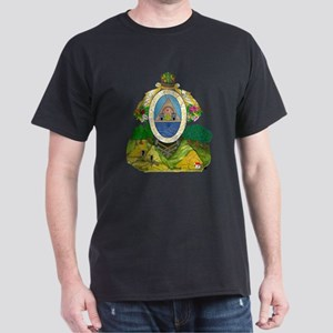 Honduras Coat Of Arms Dark T-Shirt