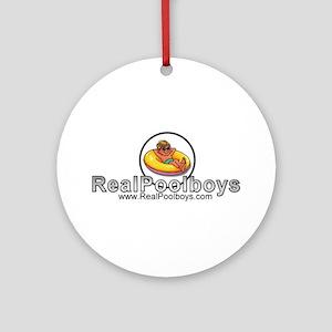 Poolboy Ornament (Round)