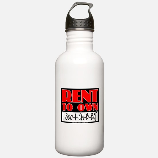 RENT TO OWN Water Bottle