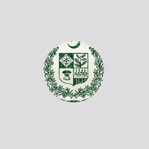 Pakistan Coat Of Arms Mini Button