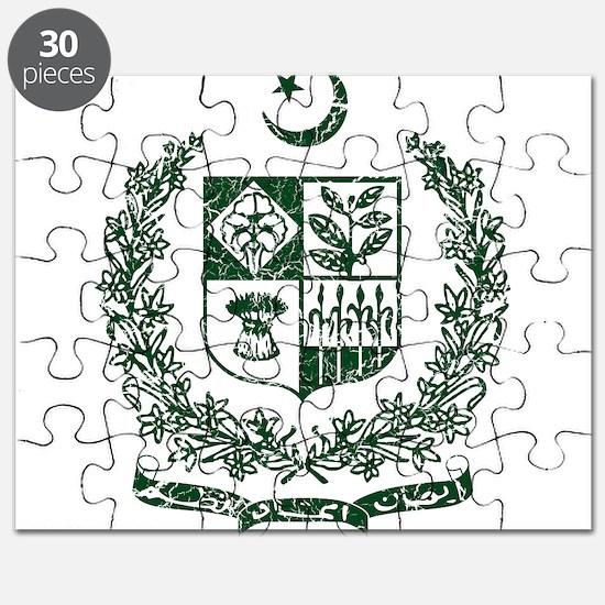 Pakistan Coat Of Arms Puzzle