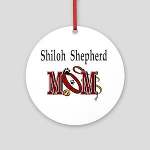 Shiloh Shepherd Mom Ornament (Round)