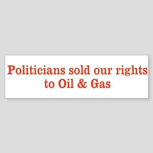 Sold our rights Sticker (Bumper)