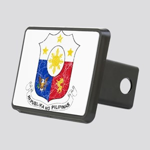 Philippines Coat Of Arms Rectangular Hitch Cover