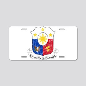 Philippines Coat Of Arms Aluminum License Plate
