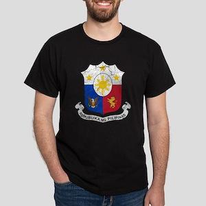 Philippines Coat Of Arms Dark T-Shirt