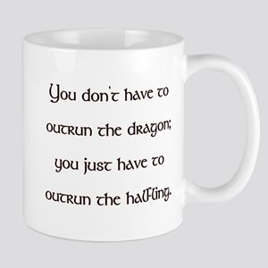 Outrun The Dragon Mug