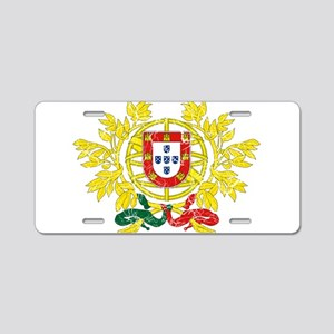 Portugal Coat Of Arms Aluminum License Plate