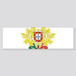 Portugal Coat Of Arms Sticker (Bumper)