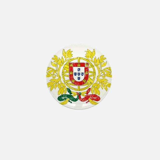 Portugal Coat Of Arms Mini Button
