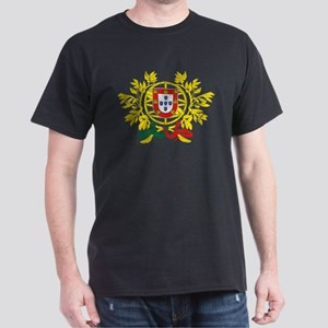 Portugal Coat Of Arms Dark T-Shirt