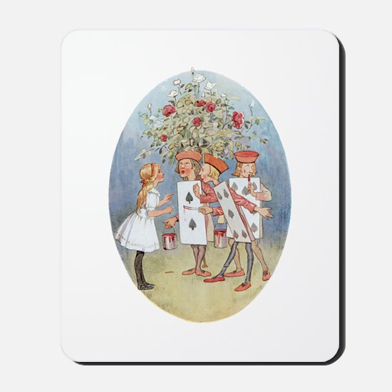 Painting Roses - Mousepad