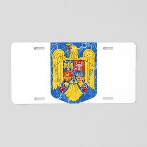 Romania Coat Of Arms Aluminum License Plate