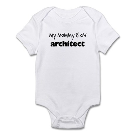 My Mommy is an Architect Baby Bodysuit