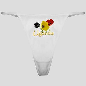 I Love Uganda Classic Thong