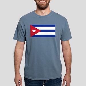 Flag of Cuba Mens Comfort Colors Shirt