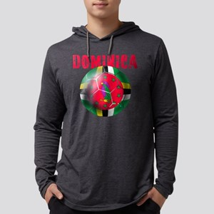 Dominican Football Mens Hooded Shirt