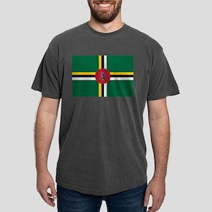 Flag of Dominica Mens Comfort Colors Shirt