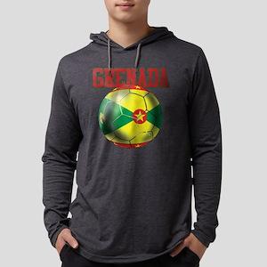 Grenada Football Mens Hooded Shirt