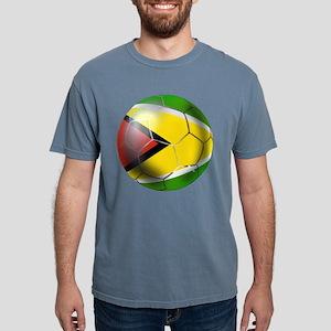 Guyana Football Mens Comfort Colors Shirt