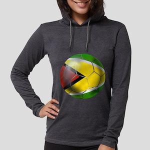 Guyana Football Womens Hooded Shirt