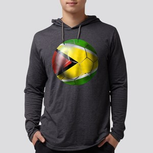 Guyana Football Mens Hooded Shirt