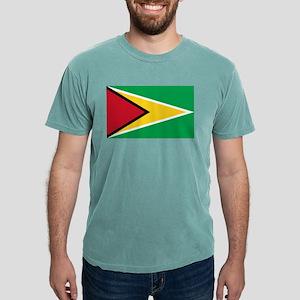 Flag of Guyana Mens Comfort Colors Shirt