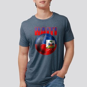 Haitian Football Mens Tri-blend T-Shirt
