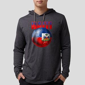 Haitian Football Mens Hooded Shirt